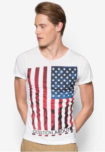 Americanesprit tw Flag T-Shirt, 服飾, 服飾
