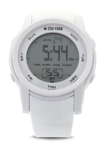 Zoo York white Analog Watch ZO541AC0IT0ZPH_1