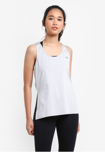 Running Bare silver Workout Tank Top E116DAA7E3FBEBGS_1