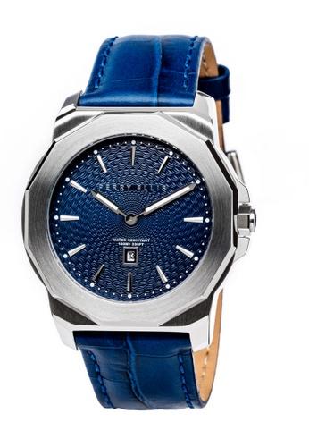 PERRY ELLIS blue Perry Ellis Decagon Unisex 42mm Quartz Watch 08001-01 CDAD9ACE6C59B6GS_1