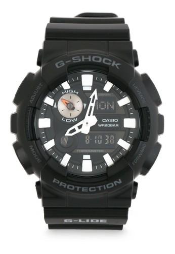G-Shock black Casio G-SHOCK Jam Tangan Pria - Black - Resin - GAX-100B-1ADR ED581AC508E316GS_1