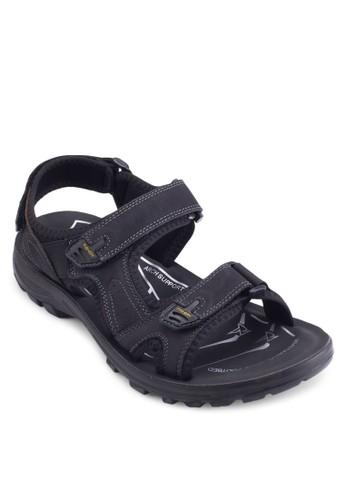 皮革esprit sg戶外涼鞋, 鞋, 鞋