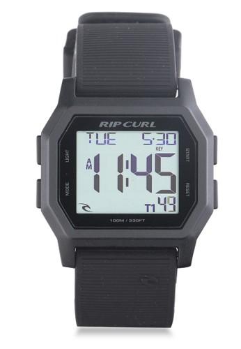 Rip Curl black Atom Digital Watch RI587AC37KKOID_1