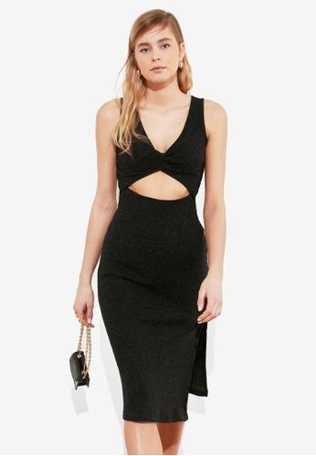 Trendyol black Sleeveless Cut Out Multiway Dress 20C9FAAB5153B6GS_1