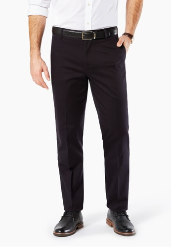 Dockers black Dockers Ultimate Iron Free Straight Pants Dockers Black 56A5FAAEF4BBB6GS_1