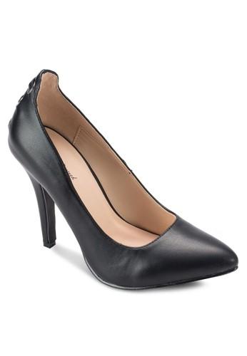 金屬孔尖頭高跟鞋, 女鞋, 厚底esprit outlet 桃園高跟鞋