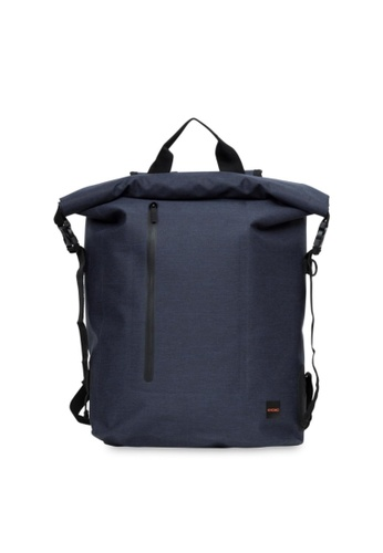 "knomo blue Cromwell 15"" Roll Top Backpack (Blue) C03F0AC817C60DGS_1"