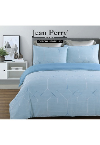 Jean Perry Jean Perry Celano Linosilk Collection 1400TC Cabot - Quilt Cover Bed Set - Single 7E706HLAA83F8AGS_1