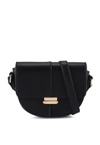 Milliot & Co. black Grace Sling Bag 9D25DAC11574DBGS_1