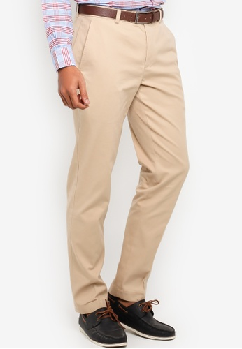 BRAND NEW W//TAGS!! PLAIN FRONT PERFORMANCE PANTS BROOKS BROTHERS BEIGE