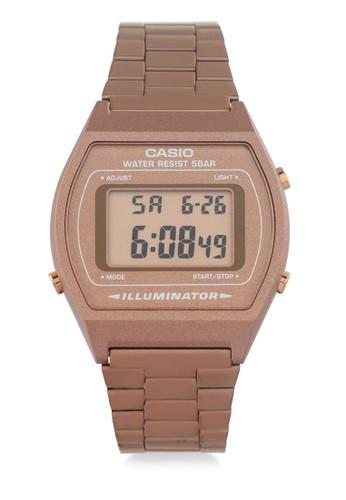 Casio gold Womens Digital Watches B640Wc-5Adf C741DAC9296260GS_1