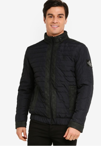 Calvin Klein black Padded Hooded Zip Jacket - Calvin Klein Jeans 47511AA4473C70GS_1