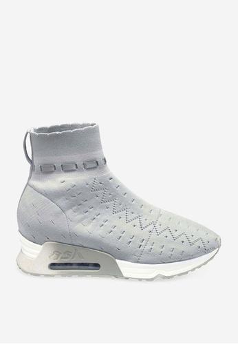 Ash grey ASH Link Sneakers - Grey E1B9ASH7396A81GS_1