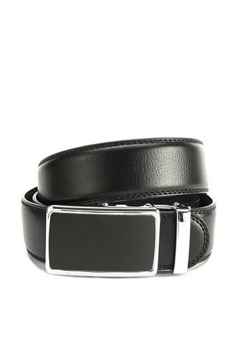 Twenty Eight Shoes black VANSA Fashion Leather Automatic Buckle Belt  VAM-Bt013 5A201AC5FC5F4BGS_1