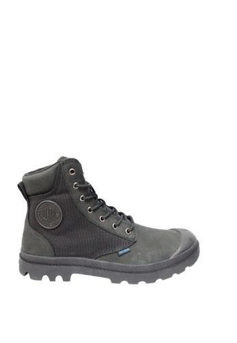 Palladium Boots black Pampa Sport Cuff WPN Men's Boots 20D61SH2D42860GS_1
