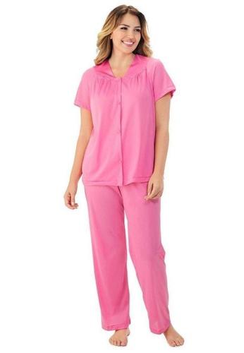 Exquisite Form Short Sleeve Pyjama Set E1CB5AA280656CGS_1