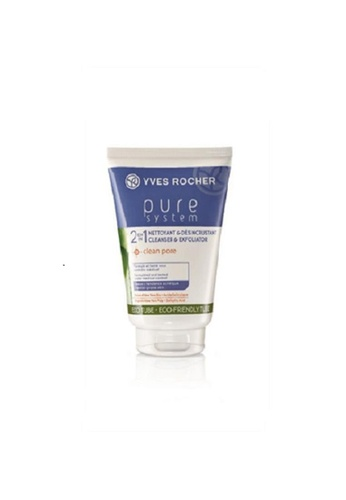 Yves Rocher white Yves Rocher Cleanser Pure System - Daily Exfoliating 125ml YV348BE0RW2CMY_1