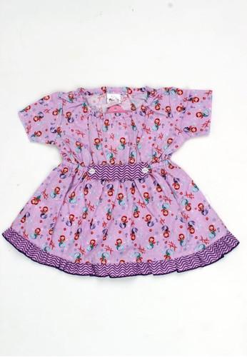 Pingu purple Pingu - Dress Anak Perempuan Printing A58B6KA98568A7GS_1