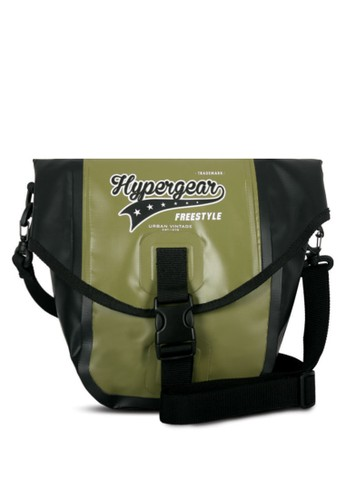 Hypergear 翻蓋口袋斜背包, 包,esprit outlet 桃園 飾品配件