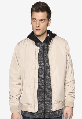 拉鍊棒球外套, esprit hk outlet服飾, 夾克 & 大衣