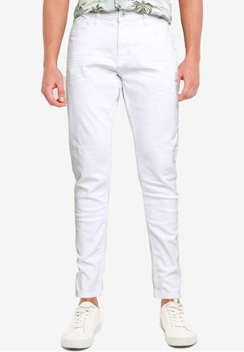 BLEND 白色 Jet 修身Fit Regular 腰圍 牛仔褲 A80C3AAE5ABD46GS_1