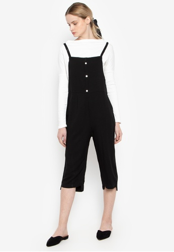 Susto The Label black Veruna Button Jumpsuit C2882AAF7F8D60GS_1