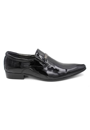 midzone black Patent Leather Formal Shoes MI949SH67LUMMY_1