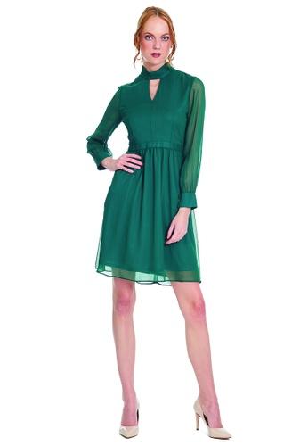 Theory Of Mine green and brown Maiya Dress 523B4AA452F0CFGS_1