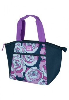 Sketched Rose Amethyst Mini Essential Tote