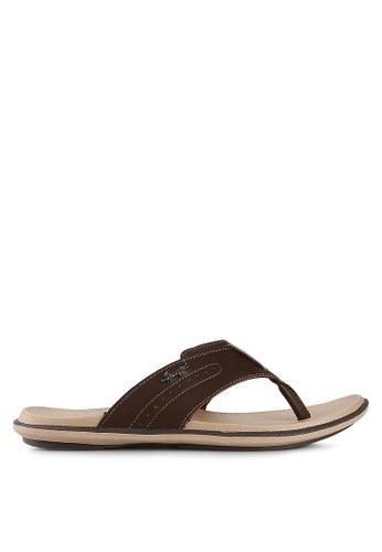 Homyped brown Davidson 03 Men Sandals HO842SH99HYQID_1