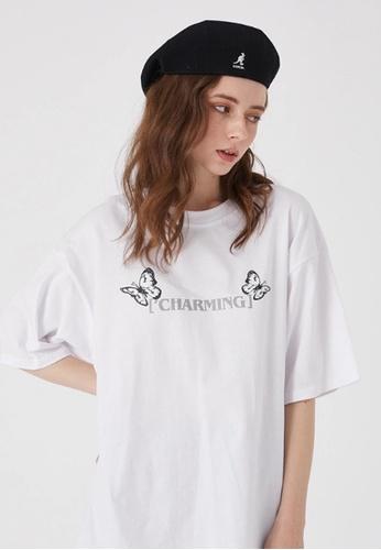 Twenty Eight Shoes Trend Printed Short T-shirt HH0170 D2DDFAAFFC3A43GS_1