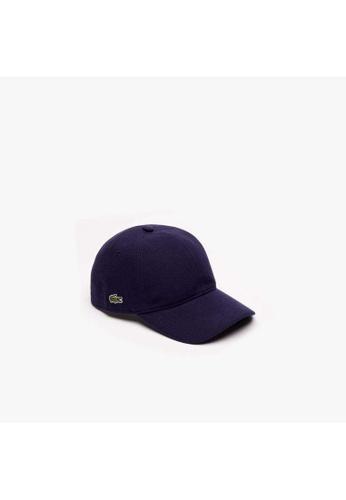 Lacoste blue Lacoste Men's Cotton piqué cap 1B330ACAAB9DF1GS_1