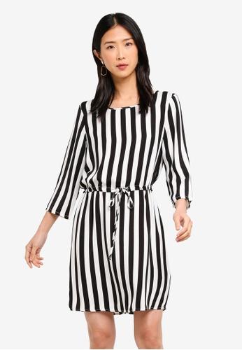 092215d20360 Buy Vero Moda Ava 3 4 Short Dress Online on ZALORA Singapore