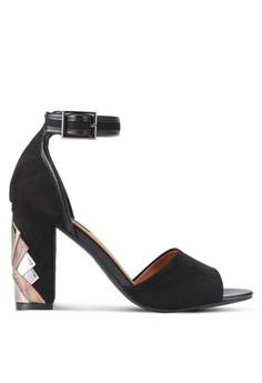 【ZALORA】 Heel Cut Out High Heels