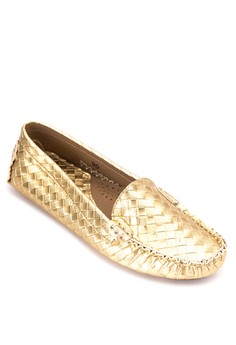 Vera Woven Loafers