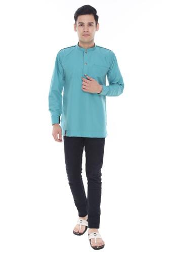 Amar Amran blue Kurta Al Hazim CB72EAA5A500B9GS_1
