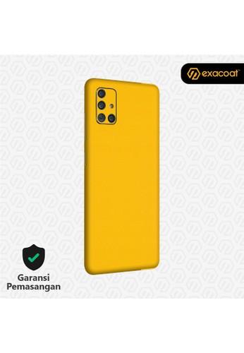 Exacoat Galaxy A51 / A71 3M Skins True Colors - Lemon Yellow C1EB0ES34389C5GS_1