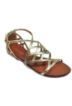 Wander Casablanca Sandals (Gold)