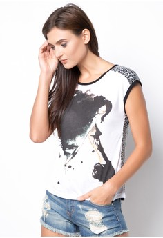 Relax Fit Top with Print