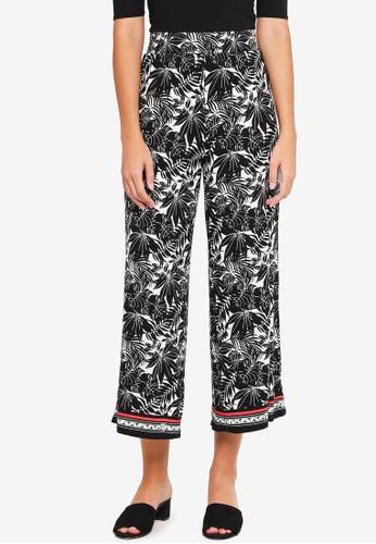 Max Studio black Knit Cropped Pajama Pants 472FDAA5AE0CDAGS_1