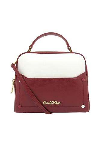 Carlo Rino red Carlo Rino 0303807-001-14 Top-handle bag (Red) 29448AC17B946DGS_1