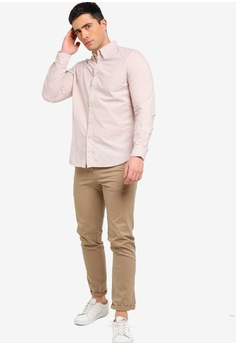 1a921972dc French Connection Overdyed Poplin Shirt RM 189.00. Sizes M L XL XXL