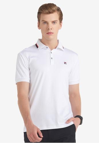 FILA white Modern Chic Polo Shirt 94D98AA68770CCGS_1