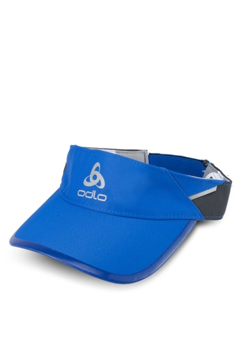 Odlo blue Fast & Light Visor Cap 2C59FACB36C177GS_1