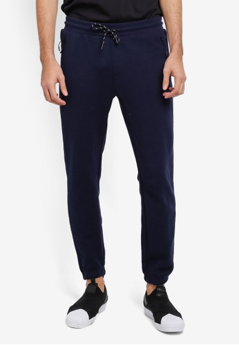 Cotton On navy Coar Tech Track Pants CO372AA0SSAQMY_1