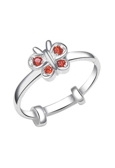 Butterfly Stone Ring