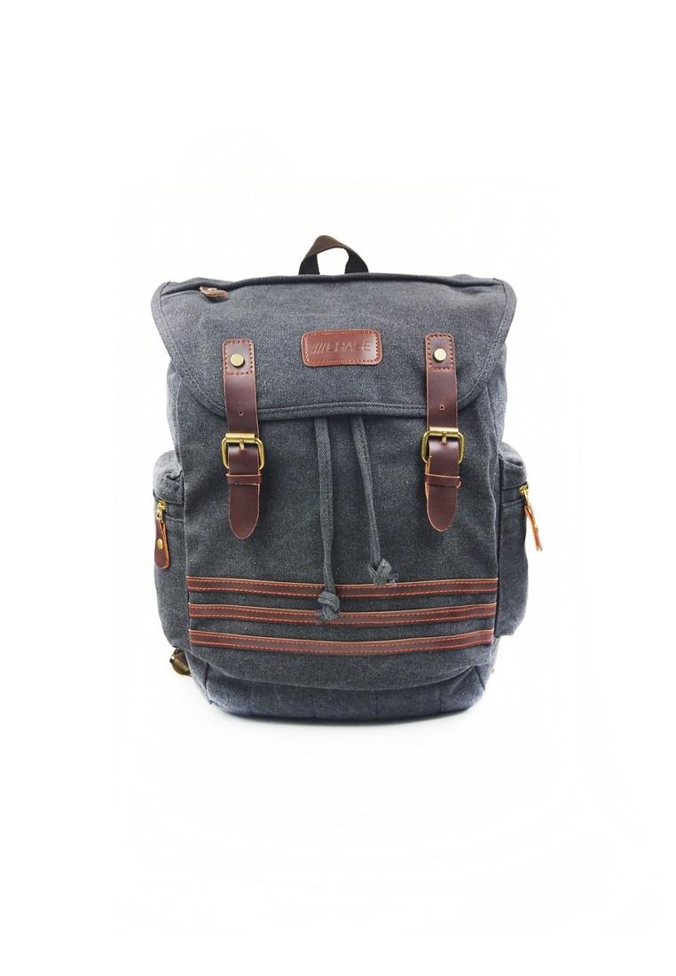 Kyle Drawstring Canvas Backpack