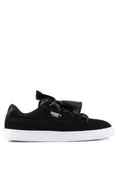 56d647eb016 Puma black Sportstyle Prime Suede Heart Galaxy Women s Shoes  99993SH72F60EDGS 1