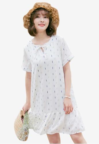 abfe717b5278 Shop Sesura Art Strokes Simple Dress Online on ZALORA Philippines