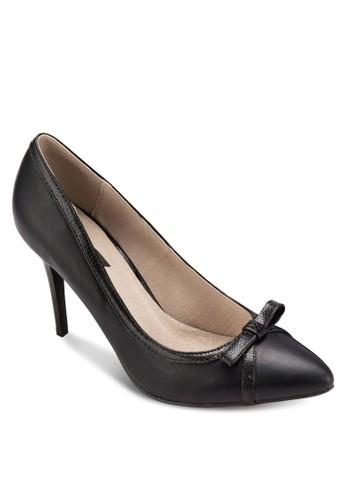 基本esprit tst款蝴蝶結尖頭高跟鞋, 女鞋, 厚底高跟鞋